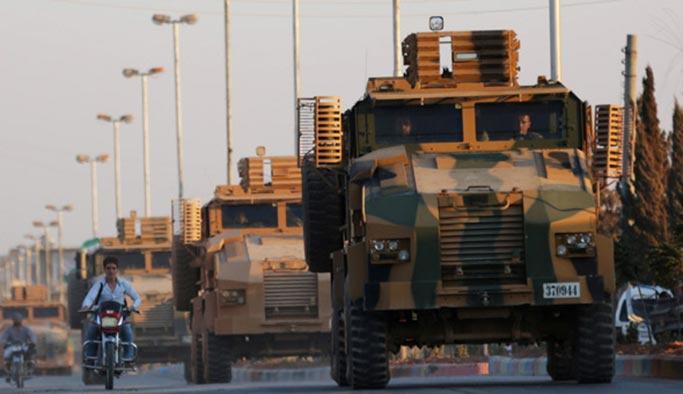 Reuters servis etti: TSK Suriye'de ilerliyor