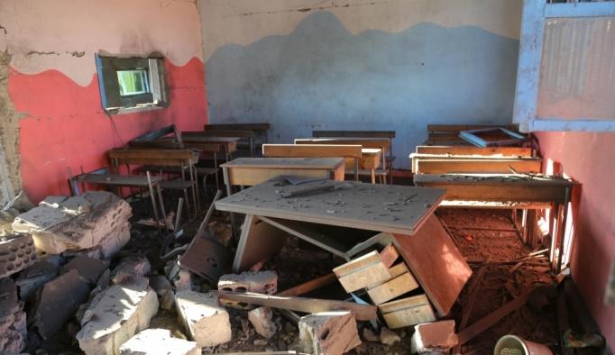 Rusya ve Esed rejimi 7 hastane ve 6 okulu bombaladı