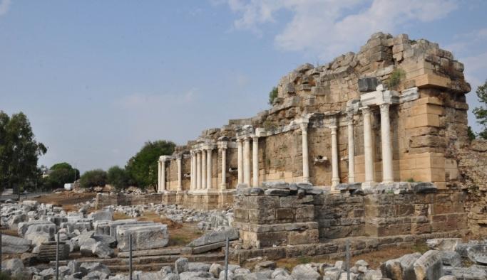 Side'deki Anıtsal Çeşme restore edilecek