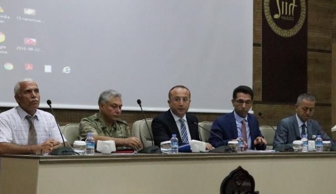 Siirt Valisi Atik'ten okul müdürlerine sert uyarı