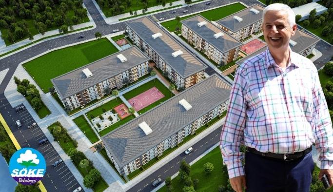 Söke Belediyesi sosyal konut projesi için kolları sıvadı