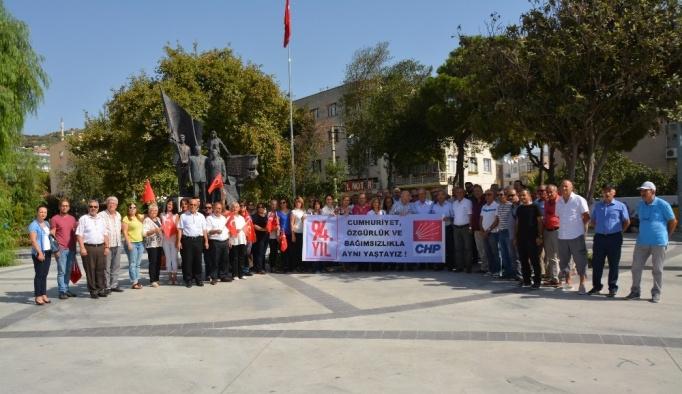 Söke CHP'den 94. Yıl Kutlaması
