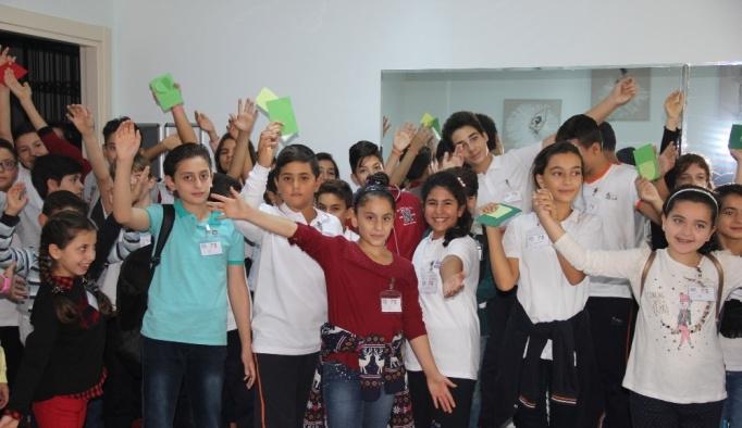 Suriyeli çocukların artık bir kardeşi var