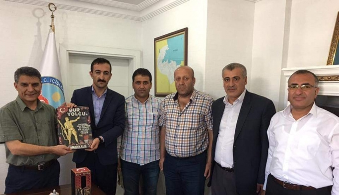 TAŞGAD'tan Kaymakam Özkan'a ziyaret