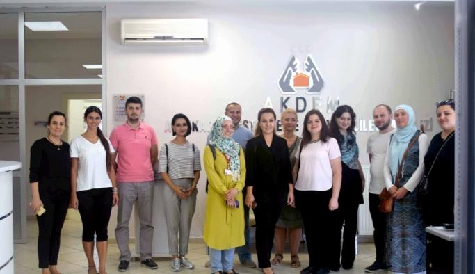 TİKA'dan Gürcistan'daki engelliler merkezine eğitim desteği