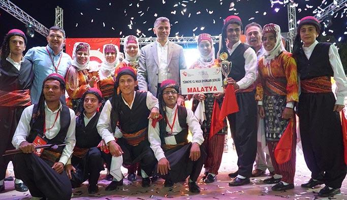 Türkiye 13. Halk Oyunları Şenliğinin şampiyonu belli oldu