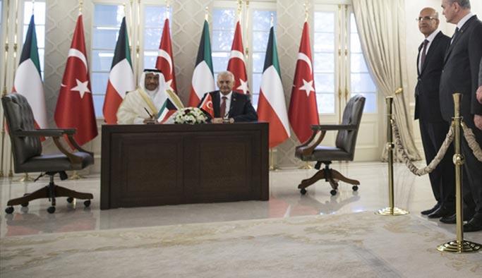 Türkiye ile Kuveyt arasında 6 anlaşma
