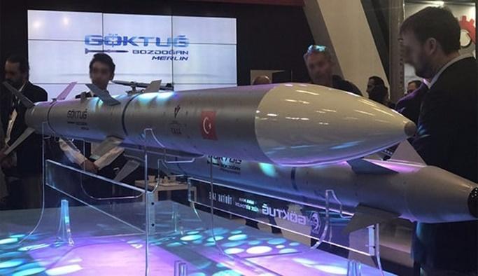 Türkiye'nin ilk milli hava füzeleri