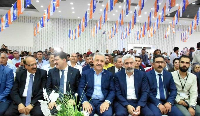 Ulaştırma, Denizcilik ve Haberleşme Bakanı Arslan, Diyarbakır'da