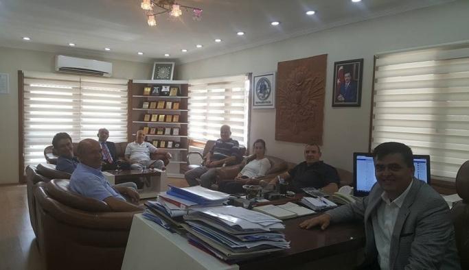 Vakıflar Bölge Müdürlüğü'nden Pazaryeri Belediyesi'ne ziyaret
