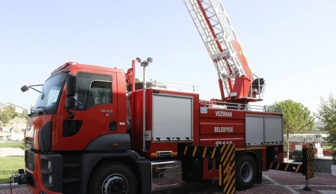 Vezirhan Belediyesi araç filosuna bir yenisini daha ekledi