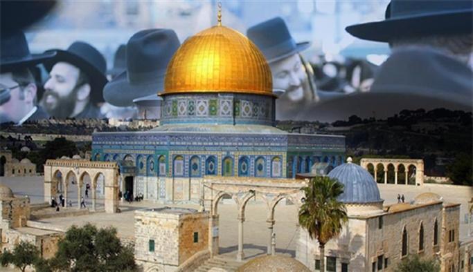 Mescid-i Aksa'ya Yahudi baskını