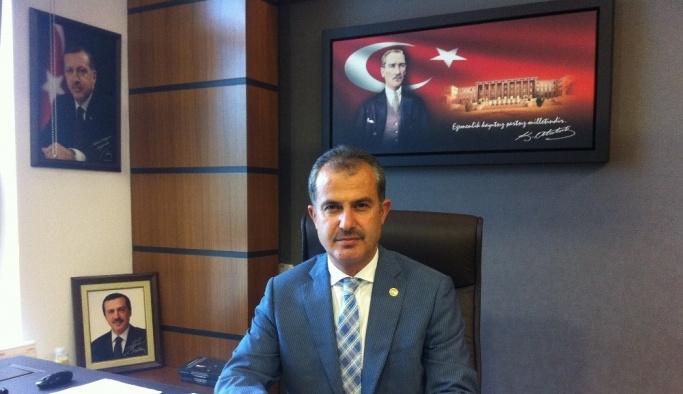 AK Parti Adıyaman İl Başkanı Mehmet Erdoğan oldu
