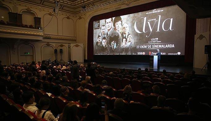 Ayla filminin ön gösterimi yapıldı