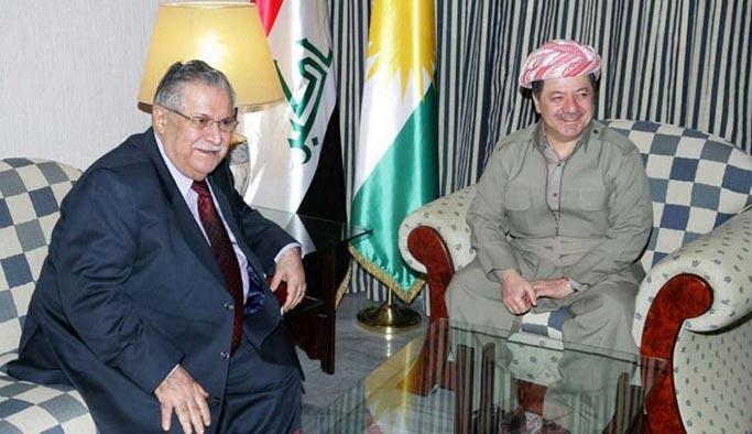 Barzani-Talabani çatışması yeniden başladı, Kuzey Irak ikiye bölünüyor