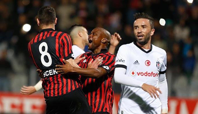 Beşiktaş, Ankara'dan puan açıkaramadı