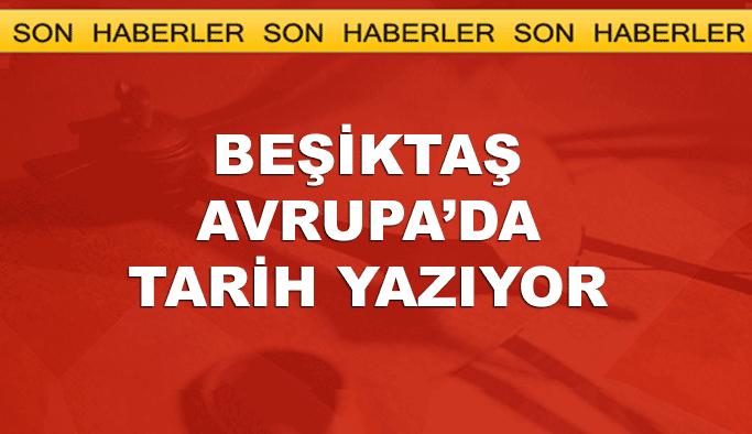 Beşiktaş bunu başaran ilk Türk takımı oldu