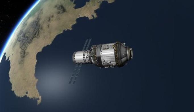 Çin'in kontrolünü kaybettiği uzay istasyonu Dünya'ya düşecek