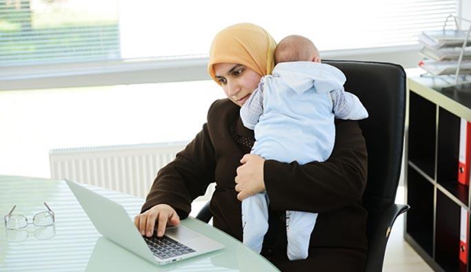 Çocuk nedeniyle işi bırakan annelerin yüzde 60'ı işe dönmek istiyor