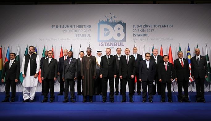 Cumhurbaşkanı Erdoğan D-8'de değişim istedi