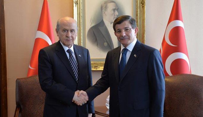 Davutoğlu'dan Bahçeli'ye cevap
