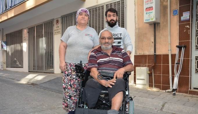 Belediye engelli vatandaşın isteğini yerine getirdi