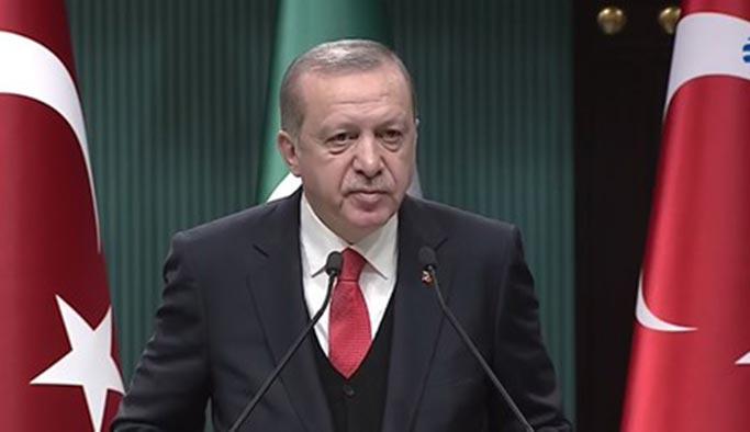 Erdoğan'dan istifası istenen isimlerle ilgili yeni açıklama
