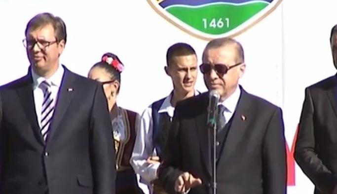 Erdoğan Novi Pazar'da halka seslendi