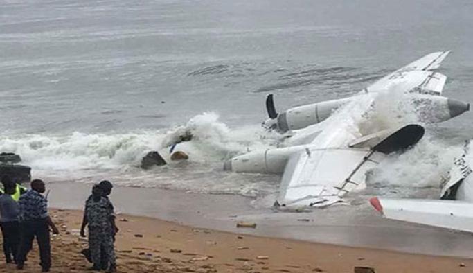 Fildişi Sahil ve Angola'da uçak kazası