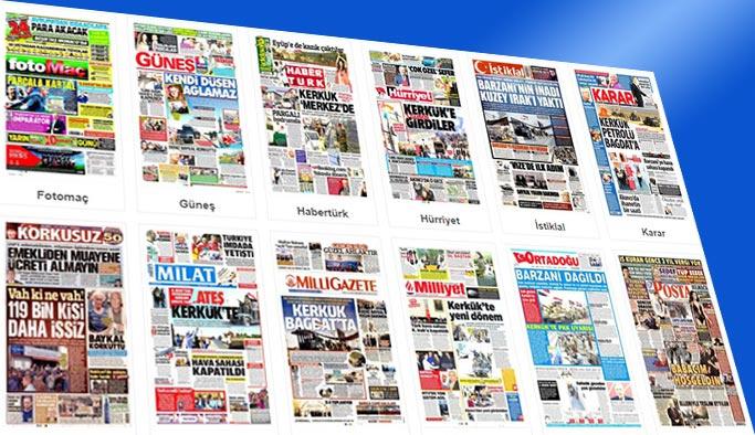 Gazetelerin bugünkü manşetleri 17 Ekim 2017