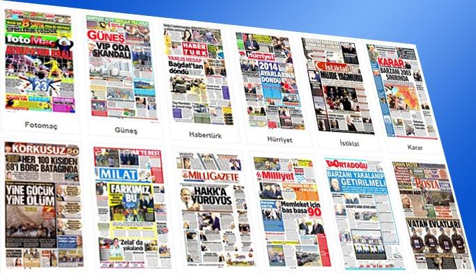Gazetelerin bugünkü manşetleri 18 Ekim 2017