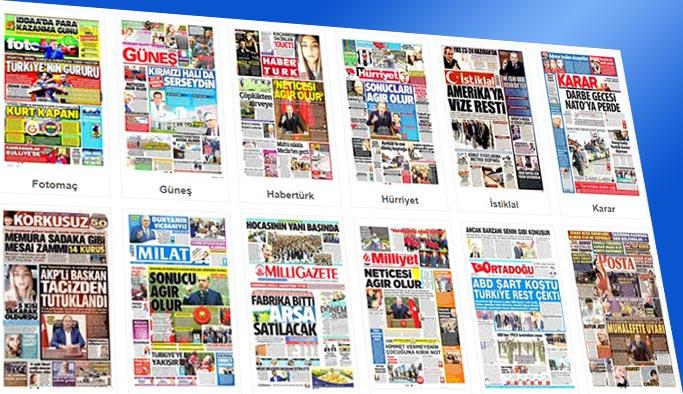 Gazetelerin bugünkü manşetleri 19 Ekim 2017