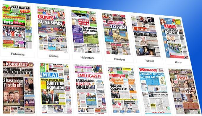 Gazetelerin bugünkü manşetleri 24 Ekim 2017