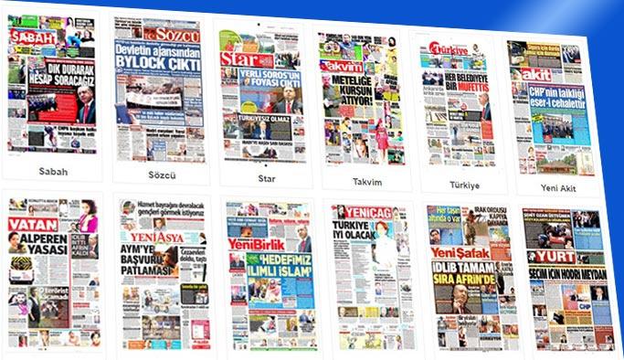 Gazetelerin bugünkü manşetleri 25 Ekim 2017
