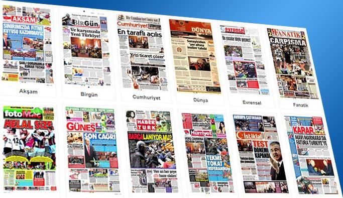 Gazetelerin bugünkü manşetleri 2 Ekim 2017