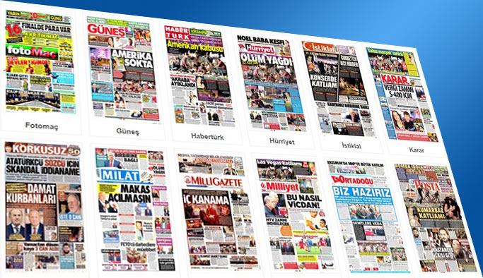 Gazetelerin bugünkü manşetleri 3 Ekim 2017