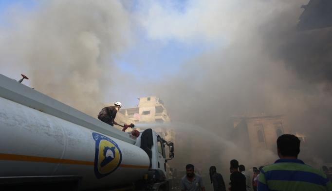 İdlib'de hava saldırısı, en 12 sivil öldü