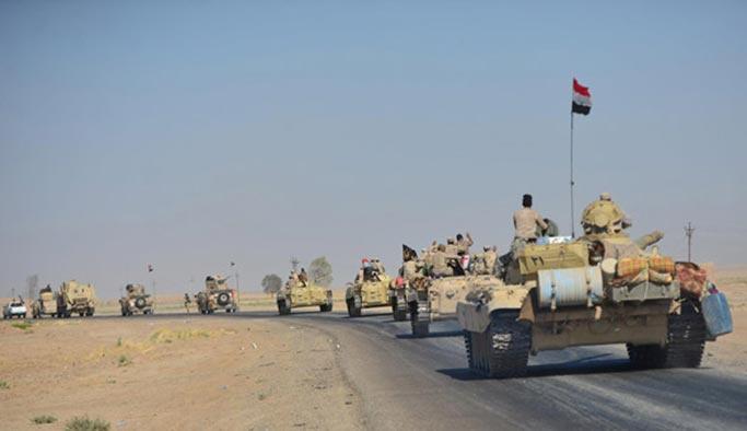 Irak ordusu Türkiye sınırına doğru ilerliyor