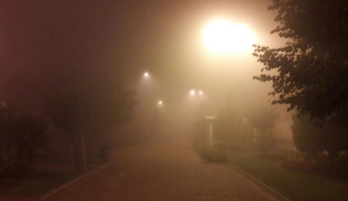 İstanbul sis altında