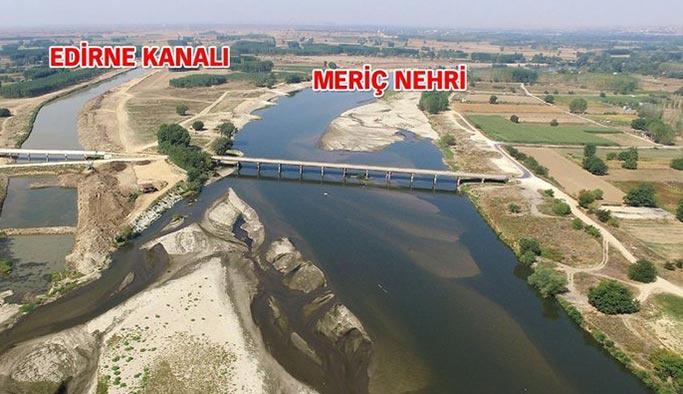 Kanal İstanbul henüz başlamadı ama Kanal Edirne bitmek üzere