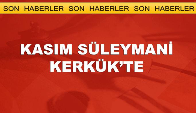 Kasım Süleymani Kerkük'te