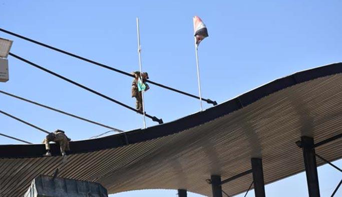 Kerkük'te kontrol sağlandı, Barzani bayrakları tek tek indirildi