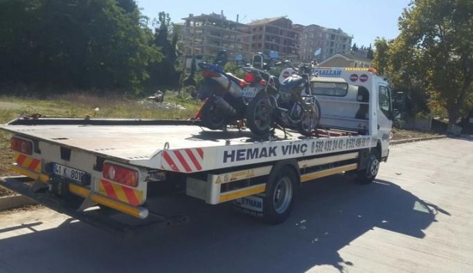 Kocaeli'de motosiklet uygulaması