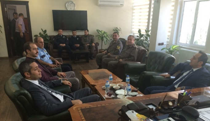 Kulu'da, kaymakamlar tarafından istişare toplantısı gerçekleştirildi