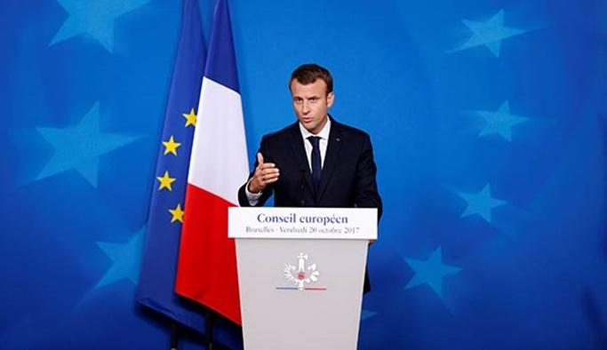 Macron: AB'nin Türkiye ile diyaloğu devam edecek