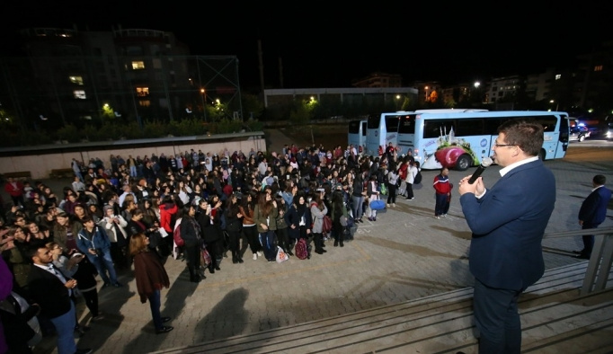 Merkezefendili öğrenciler İstanbul'u tanıyor