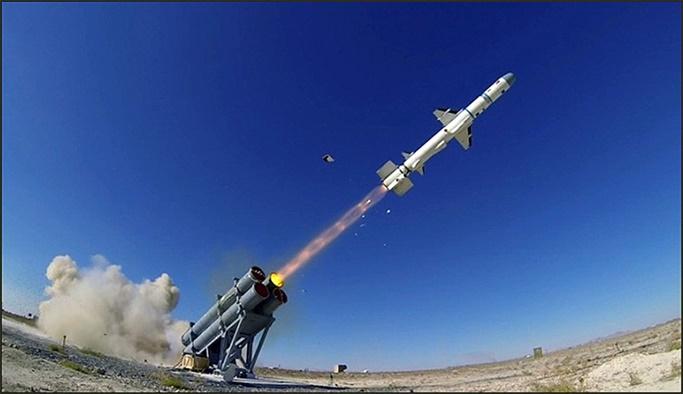 Milli füze Atmaca'nın ilk atışı gerçekleştirildi
