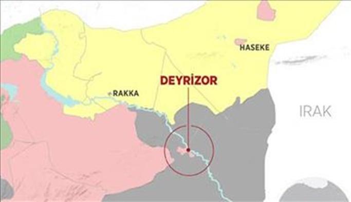 YPG Deyrizor petrol sahalarını işgal etti