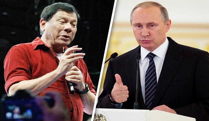 Rusya'dan Filipinler'e silah yardımı