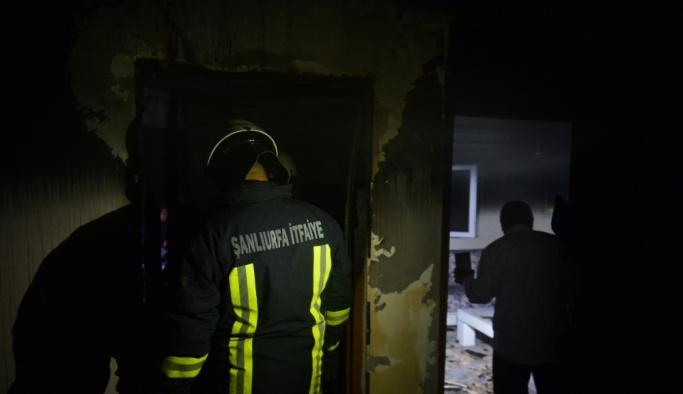 Şanlıurfa'da yangın